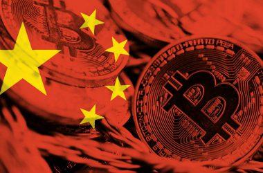 China flag bitcoin