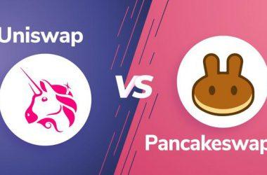 Uniswap vs PancakeSwap